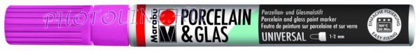 Porcelán & Üveg filctoll PINK 1-2mm