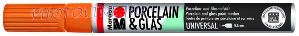 Porcelán & Üveg filctoll MANDARIN 0,8mm