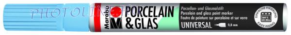 Porcelán & Üveg filctoll ÉGKÉK 0,8mm