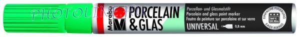 Porcelán & Üveg filctoll MENTA 0,8mm