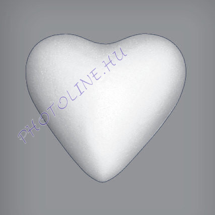 Hungarocell Szív teli, 4 cm polisztirol