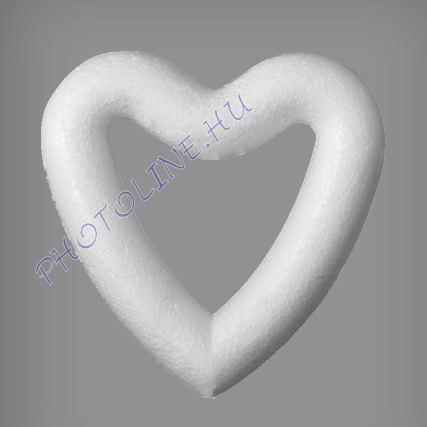 Hungarocell Szív (kontúr) 9 cm polisztirol