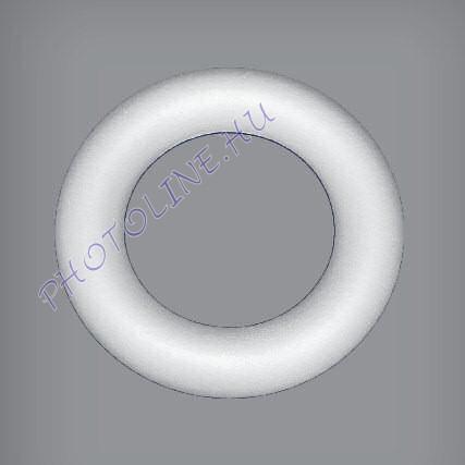 Hungarocell Girland koszorú, teli, 50,5 x 14 cm polisztirol