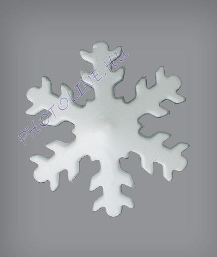 Hungarocell Hópehely klasszikus, 17,5 cm polisztirol
