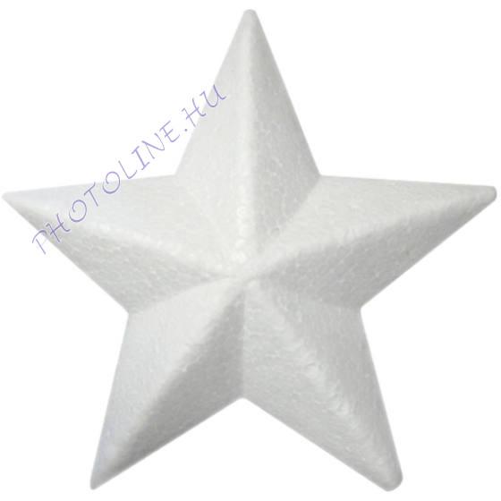 Hungarocell csillag, 10 cm, 3cm vastag