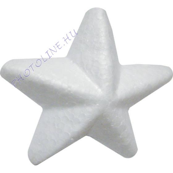 Hungarocell csillag, 9 cm, 4cm vastag