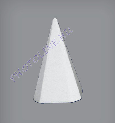 Hungarocell Piramis 20 x 12 x 12 cm polisztirol