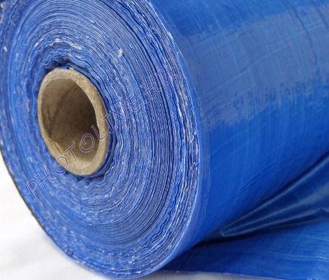Vízálló ponyvaanyag, kék, 240 gr/nm (205 cm széles)