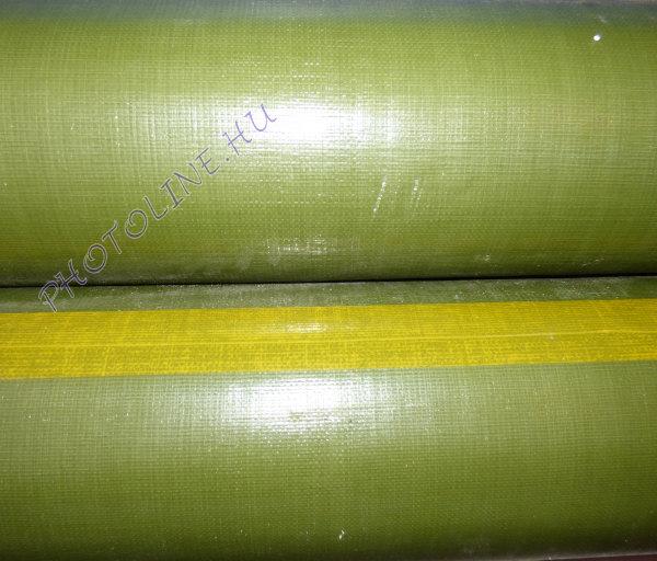 Vízálló ponyvaanyag, zöld, 240 gr/nm (205 cm széles)