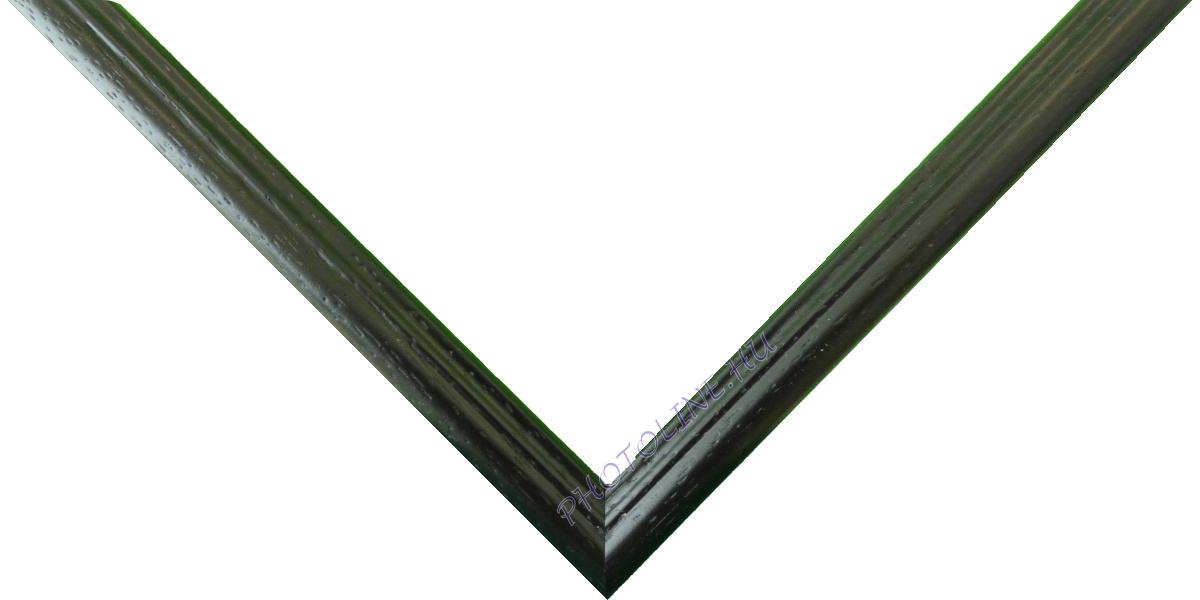 Egyedi keretezés 13 mm profil, fekete