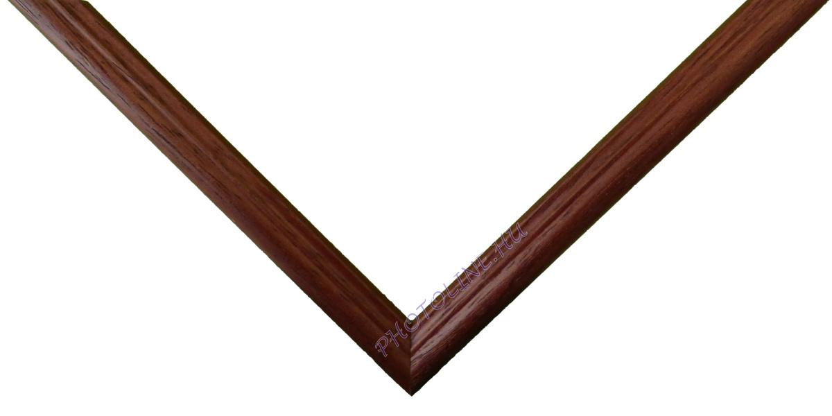 Egyedi keretezés 13 mm profil, mahagóni