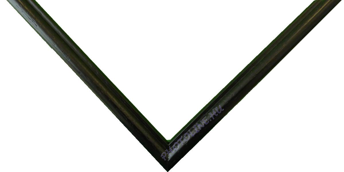 Egyedi keretezés 10 mm profil, fekete