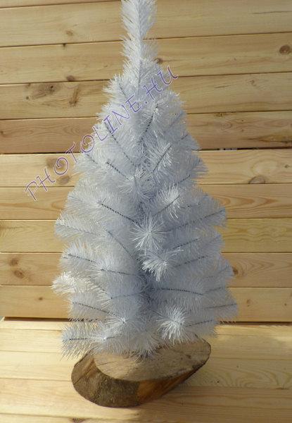 Fenyőfa - 60 cm, fa talp, fehér fenyő