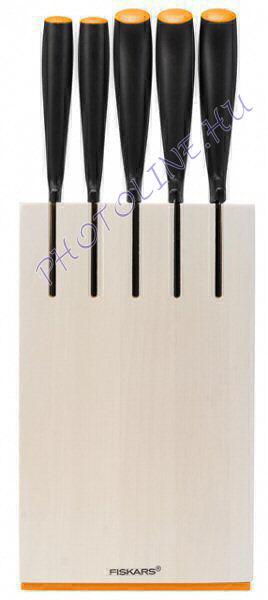 Fiskars Functional Form Késblokk 5 db késsel, fehér (102639)