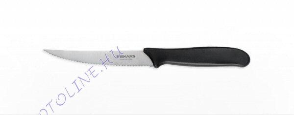Fiskars Essential paradicsomszeletelő kés,  RECÉS 11 cm