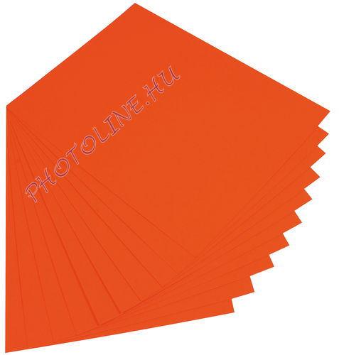 Fotókarton 50 x 70 cm, narancs
