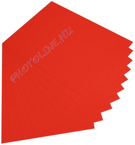 Fotókarton 50 x 70 cm, piros