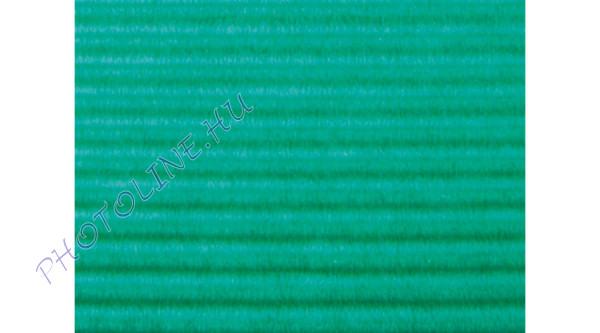 Hullámkarton 50x70 cm, zöld