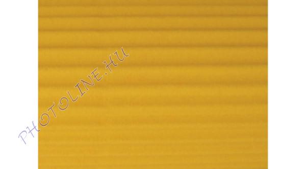 Hullámkarton 50x70 cm, napsárga