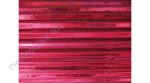 Hullámkarton 50x70 cm, metál piros