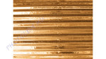 Hullámkarton 50x70 cm, metál arany