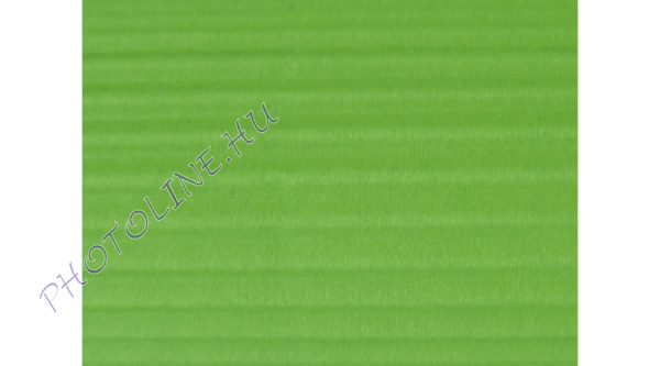 Hullámkarton 50x70 cm, almazöld