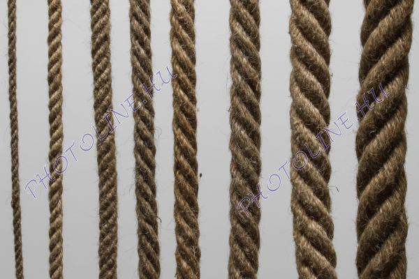 Juta kötél sodrott, 65 mm