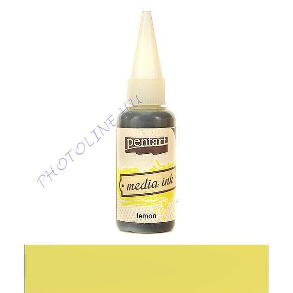 Média tinta 20 ml citromsárga