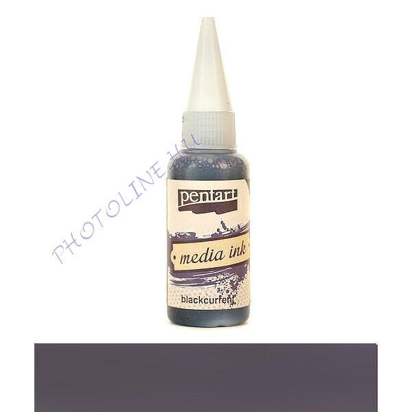 Média tinta 20 ml feketeribizli