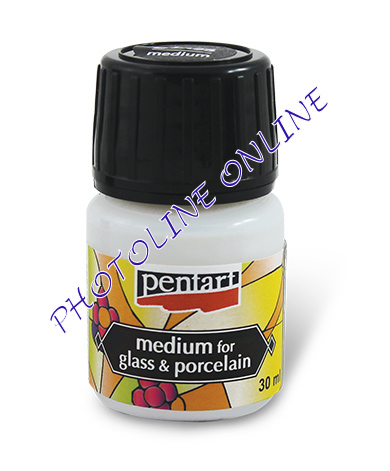 Pentart üveg és porcelánfesték médium 30 ml