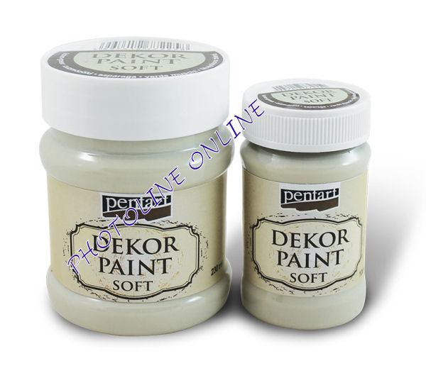 Dekorfesték lágy 230 ml fehér