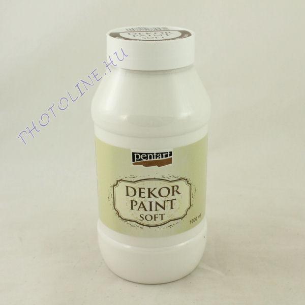 Dekorfesték lágy 1000 ml  fehér