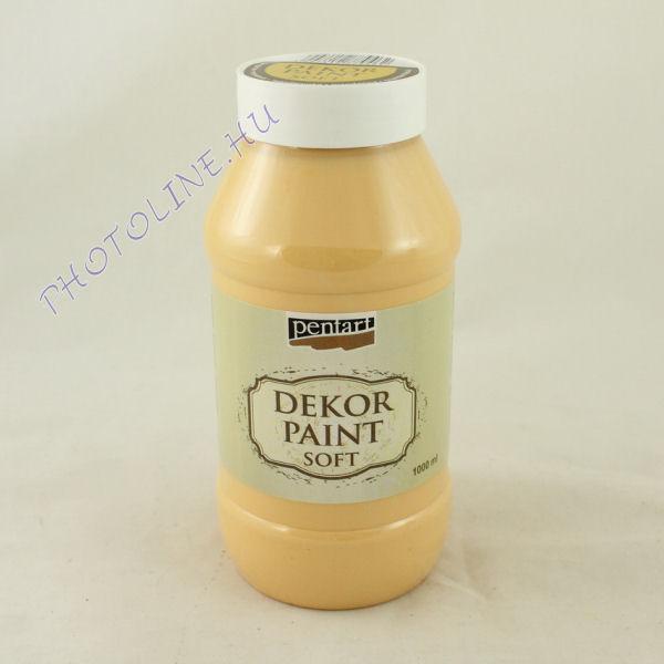 Dekorfesték lágy 1000 ml mandarin