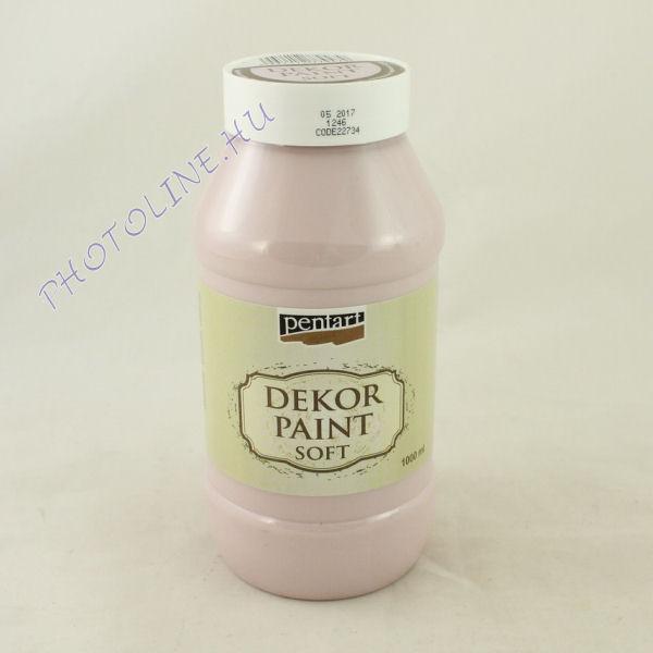 Dekorfesték lágy 1000 ml Viktoriánus rózsaszín