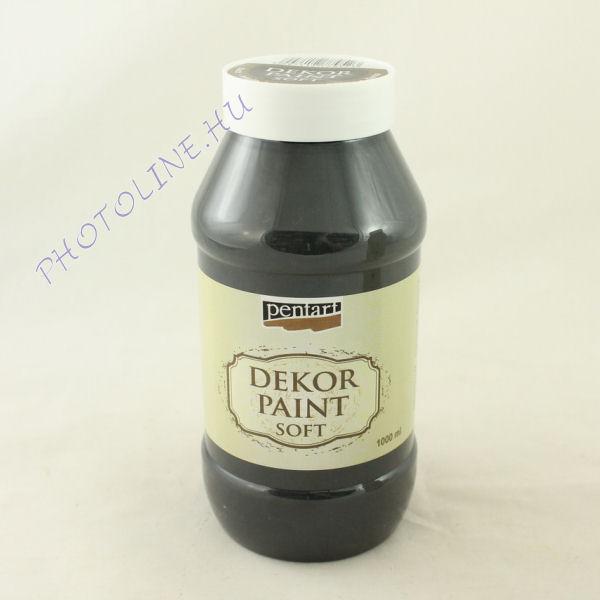 Dekorfesték lágy 1000 ml fekete