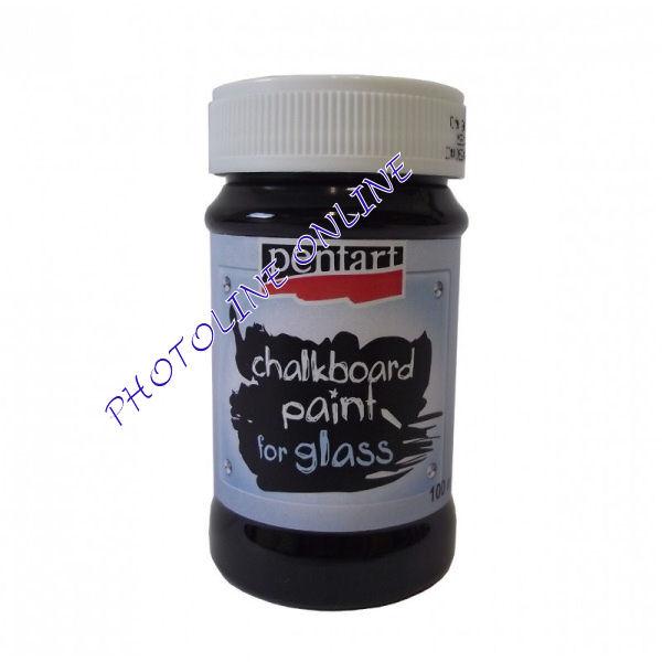 Táblafesték üvegre 100 ml fekete