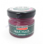 Viaszpaszta (wax paste colored) 20 ml magenta