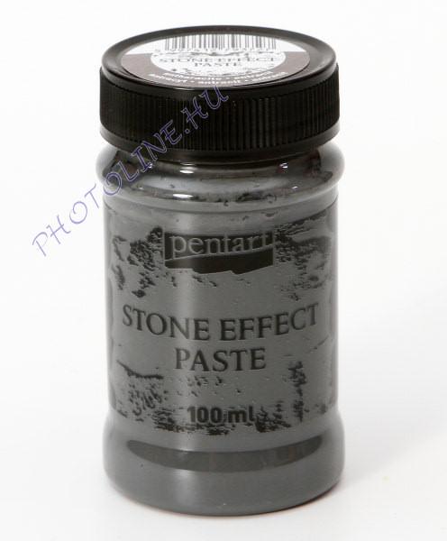 Kőhatású paszta 100 ml antracit