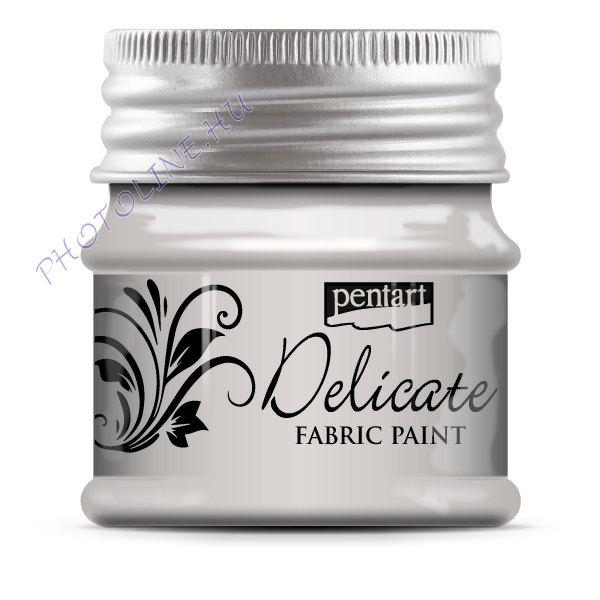 Delicate textilfesték 50 ml ezüst