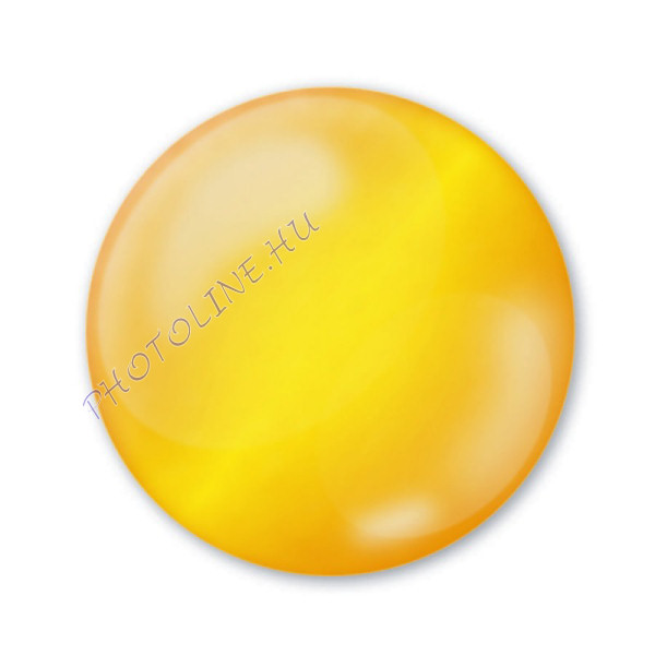 3D dekortoll átlátszó 30 ml citrinsárga