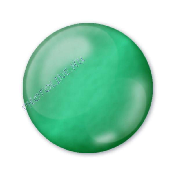 3D dekortoll átlátszó 30 ml smaragdzöld