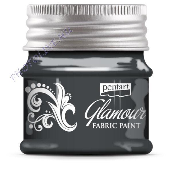 Glamour textilfesték 50 ml óezüst