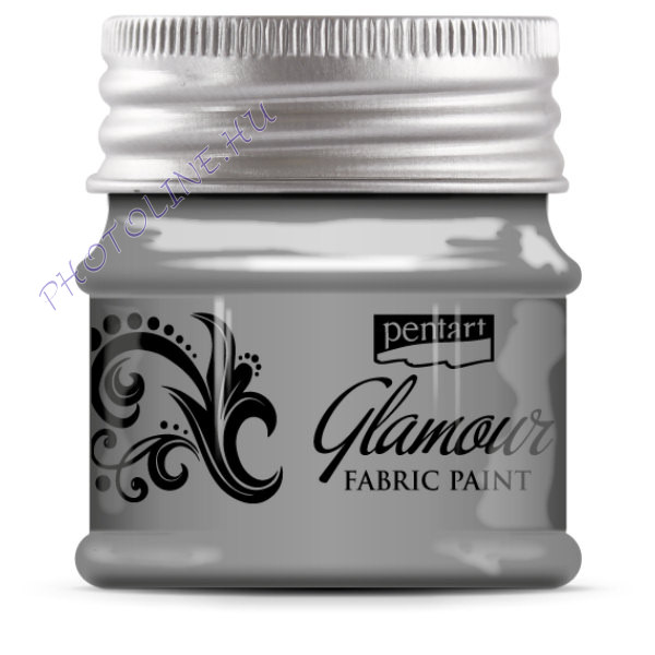 Glamour textilfesték 50 ml ezüst