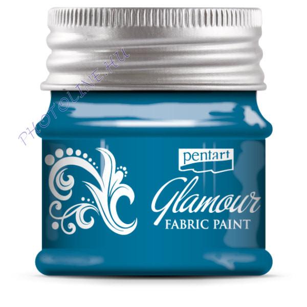 Glamour textilfesték 50 ml kékezüst