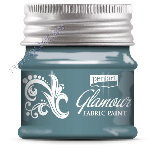 Glamour textilfesték 50 ml türkizezüst