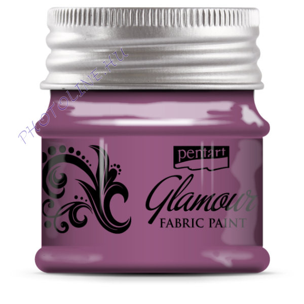 Glamour textilfesték 50 ml rózsaezüst