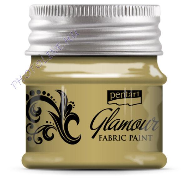 Glamour textilfesték 50 ml pezsgő
