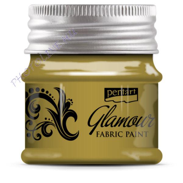 Glamour textilfesték 50 ml arany