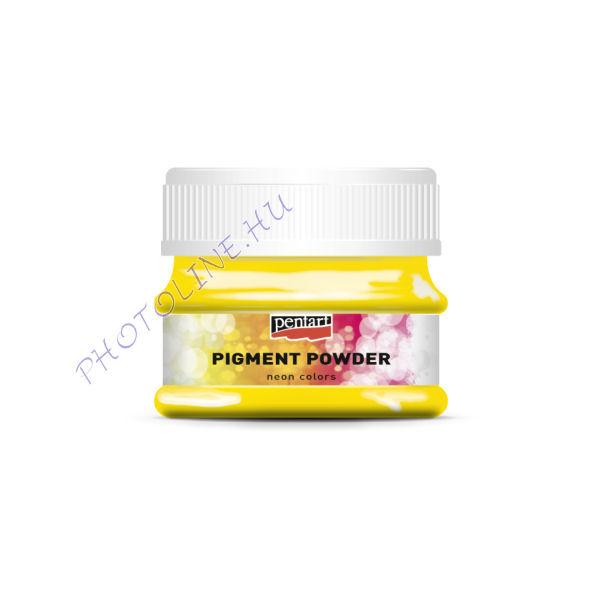 Pigmentpor neon sárga 6 g