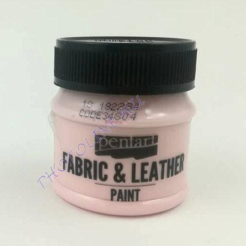 Pentart textil és bőrfesték 50 ml rózsaszín